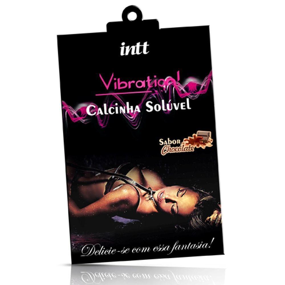 Calcinha Soluvel Vibration de Chocolate