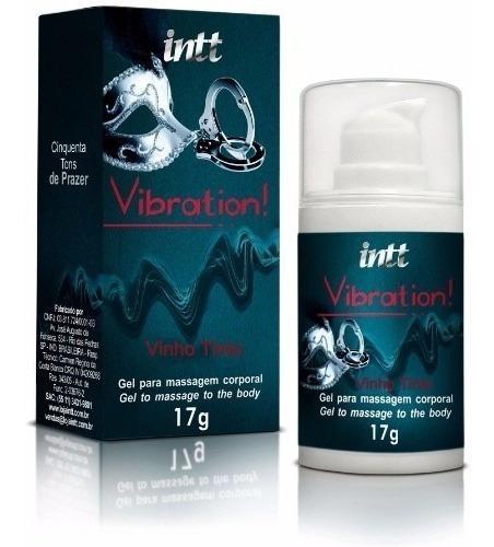 Vibrador Liquido Vibration Vinho TInto - 50 TONS DE PRAZER