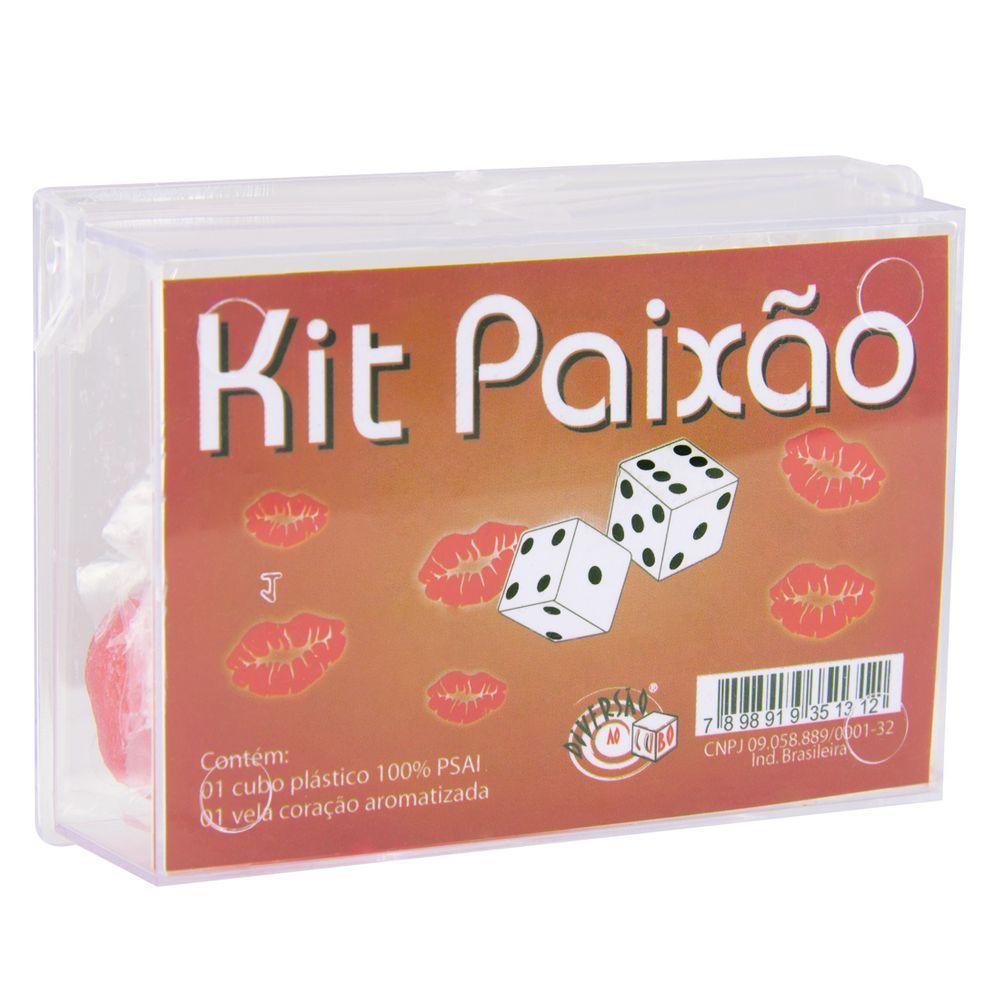 Kit Paixão Diversão ao Cubo