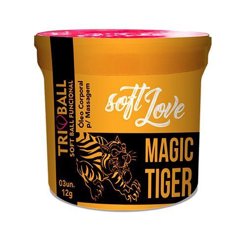 Triball Soft Ball Magic Tiger 2g 03 Unidades Soft Love