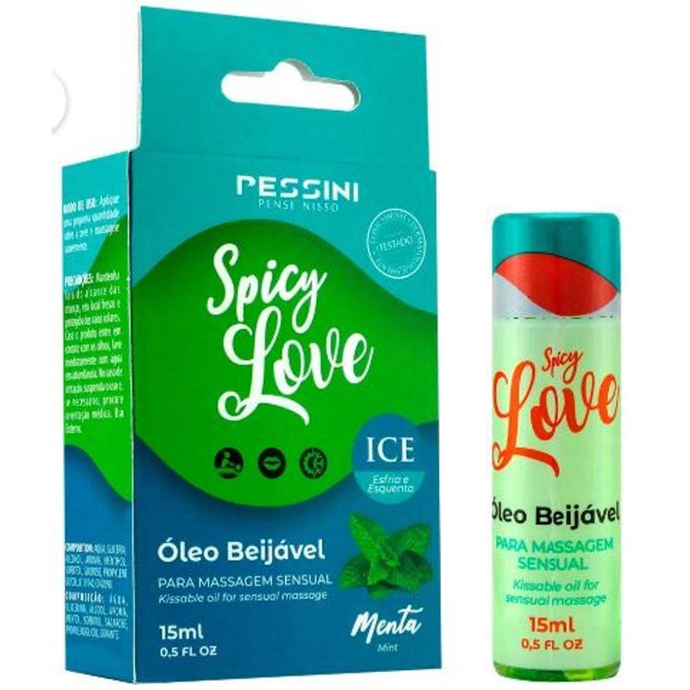 GEL COMESTÍVEL SPICY LOVE ICE 15ML PESSINI