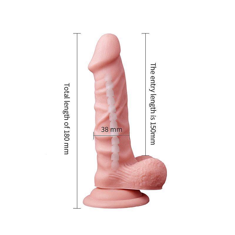Prótese Realística com Vértebra